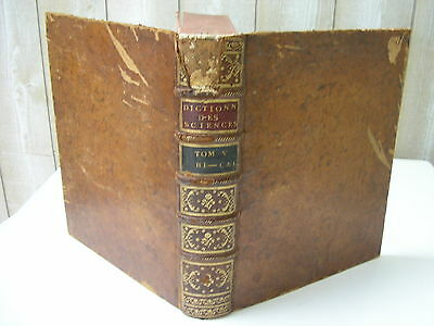 ENCYCLOPEDIE DIDEROT & D'ALEMBERT Tome V 3e édition 1778