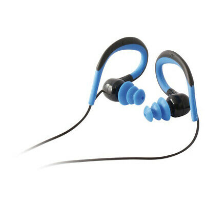 Sports Headphones with Microphone Black Blue