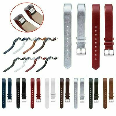 Leather Wrist Band Strap Bracelet For Fitbit Alta/Alta HR Replacement