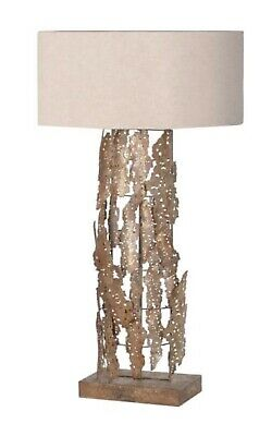 Large Pair Of Gold Table Lamps Stunning Design