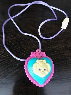 Vintage Polly Pocket 1994 Polly's Puppy  Pendant Locket 100% Complete. EUC.