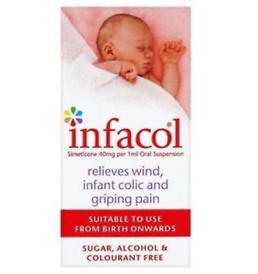 Infacol Suspension 50ml X 3 - Relieves Wind, Colic, Griping Pain