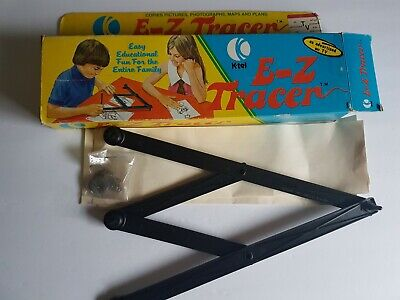 K-tel E-Z Tracer Drawing Instrument Vintage in Original Box