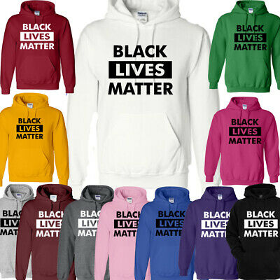 BLACK LIVES MATTER,Hoodies Tops Unisex Sweater Anti Racism Protest Anti Violence