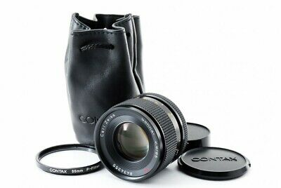 CONTAX Carl Zeiss Sonnar T* 85mm f/2.8 MMG MF Lens w/Case Excellent+ From Japan