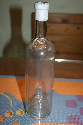 Alte Flasche  Antike Flasche  Weinflasche  Glassiegel   Seal Bottle  Stockholm