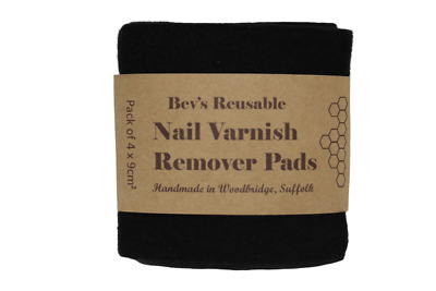 Nail Varnish/Polish Remover Pads |Cruelty-free, Washable, Reusable, Eco-friendly