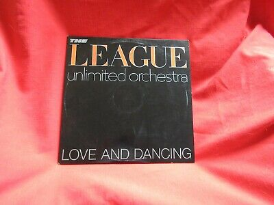 The League Unlimited Orchestra Love And Dancing Never Played LP Promo SP 3209