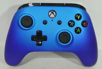 XBOX ONE Power A Enhanced wired controller for XBOX ONE Sapphire Fade