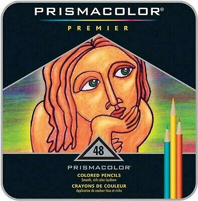 Sanford Prismacolor Premier Colored Pencils, Pack of 48, Multi-... FREE SHIPPING