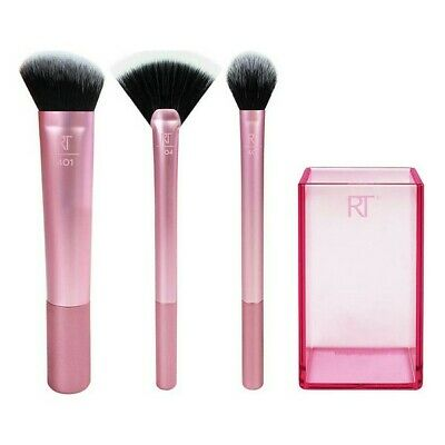 Set of Make-up Brushes Scuilpting Real Techniques (3 uds)