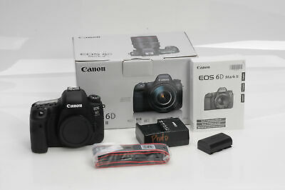Canon EOS 6D Mark II 26.2MP Digital SLR Camera Body                         #802