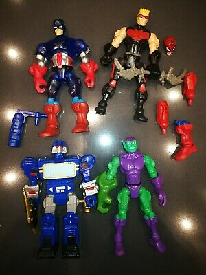 Marvel Avengers Super Hero Mashers Action Figures Bundle by Hasbro Lotto 1