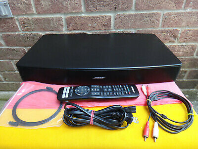 Bose SOLO TV Sound System Black & Remote 'Works Perfect'