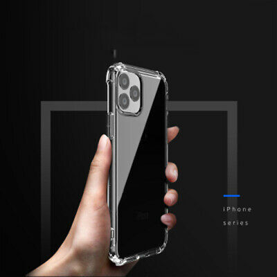 Transparent Silicone Phone Case Shockproof Soft Tpu Cover For iPhone