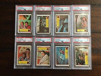 LAND OF THE GIANTS by A&BC (1969) 8 Different Cards Each PSA Graded