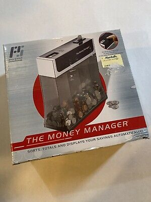 The Money Manager Coin Sorter And Counter