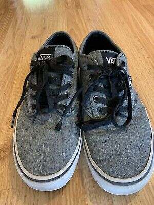 VANS Shoes Gray Black  Off The Wall Mens Size 9.5