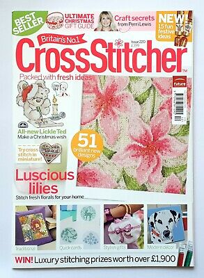 Cross Stitcher Issue 220 December 2009 Magazine