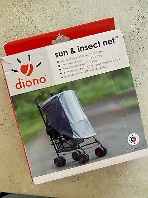 Diono Sun and Insect Net Pram Cover for Baby Summer Holiday Nap Shade