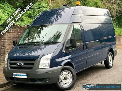 2012 Ford Transit 350 Lwb High Roof Awd 4X4 4 Wheel Drive 2.2 125Bhp 1 Owner