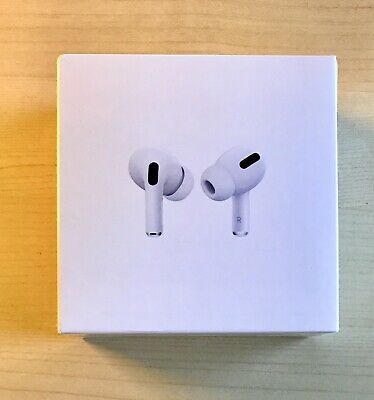 Apple AirPods Pro - New, Unopened, White, Genuine