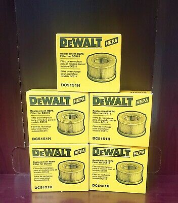 DEWALT Replacement HEPA Filter For DC515 (DC5151H)