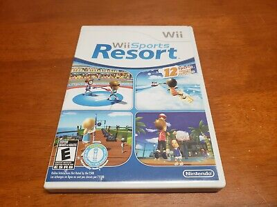 Wii Sports Resort (Wii, 2009) Complete With Case & Manual TESTED