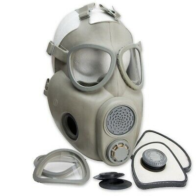 Czech M10 Military Surplus Gas Mask W/ Filters Unissued NOS