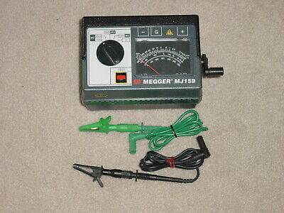 Megger Biddle Instruments Insulation Tester Catalog Number 212159