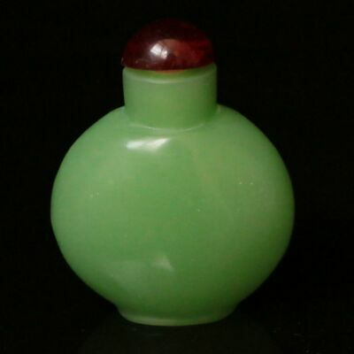 Chinese Exquisite Hand-made Old Beijing Glaze Snuff bottle