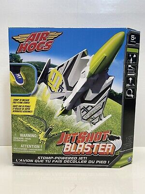 Air Hogs Jet Shot Blaster by Spin Master Green NEW IN BOX