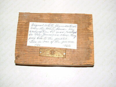 Original White House Material from 1950's Renovation - Presidential  Collectable