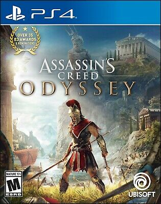 Assassin's Creed: Odyssey PS4 - Standard Edition (Sony Playstation 4)