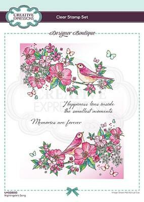 Creative Expressions Texture A5 Clear Stamp Set CEC828