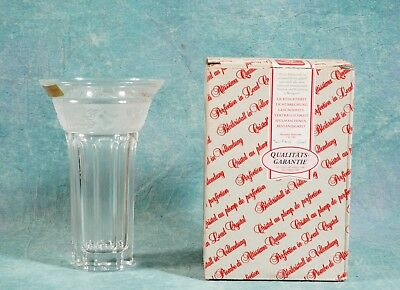 Crystal Vase Germany Nachtmann 24% Lead  NEW in BOX  EDEN Orchard Fruits
