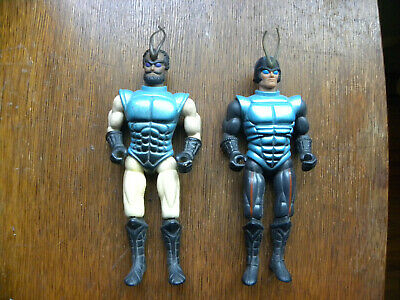 Vintage 1984 Coleco Sectaurs Lot of 2 - Incomplete