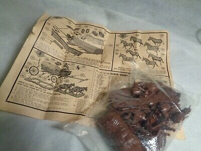 20 Mule Team, Adams plastic model kit circa 1958