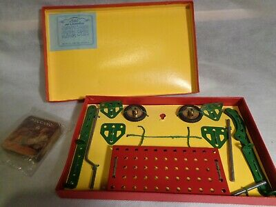 "Meccano Set ""O"" in original box"