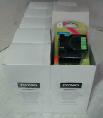 NEW LOT OF 80 Dymo D1 Labeling Tape Neon $1000