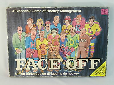 Face Off 1974 Board Game House of Games 100% Complete Bilingual EUC