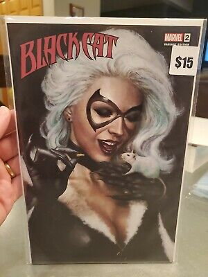 BLACK CAT 2 MIKE CHOI UNKNOWN TRADE VARIANT NM