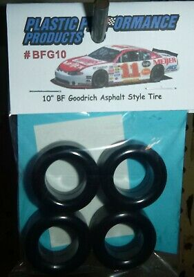 """PPP NEW ITEM 1//25 Scale #MC10-70s//80s McCreary Style 10/"""" Stock Car Tires"""