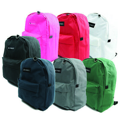 [EVEREST] Claasic Color Backpack Casual Young 2045CR