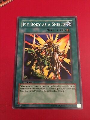 MFC-092 MY BODY AS A SHIELD CARD - FREE P/&P X3 YUGIOH