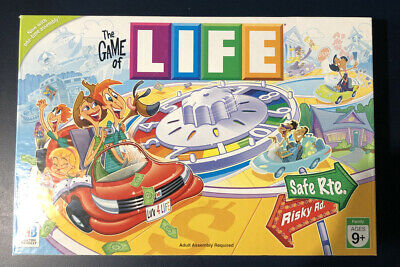 BRAND NEW Hasbro E4304000 The Game of Life Board game
