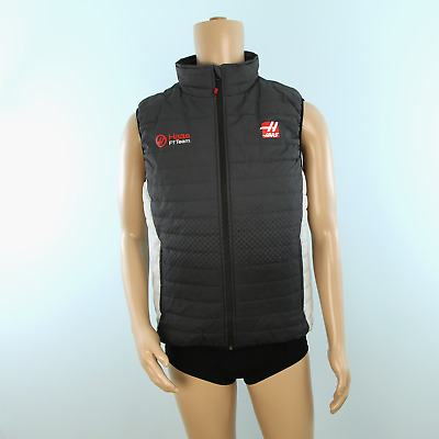 Race Engineer Used - Haas F1 Team Gilet Grey