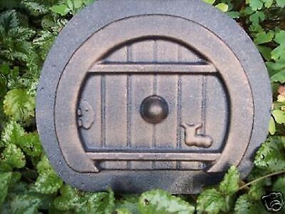 "Fairy door mold bless this house plaster cement mold mould 10/"" x 8/"" x 3//4/"" thick"