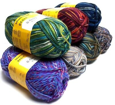 7,30€//100g Regia Sockenwolle 150g  6fädig Color Farbe 02794 aurland color