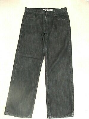 Boys Flipback Black Slightly Distressed Jeans Age 13 years Good Condition